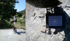 monumento targa  massimo casalnuovo