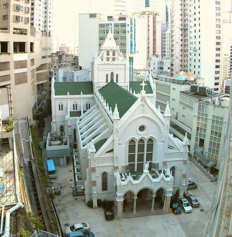 Explore This Immaculate New: The Hong Kong Catholic Cathedral Of The Immaculate Concept