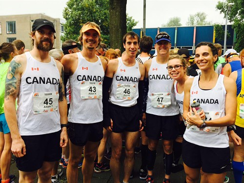 Team Canada at the Winschoten World 100km Championships