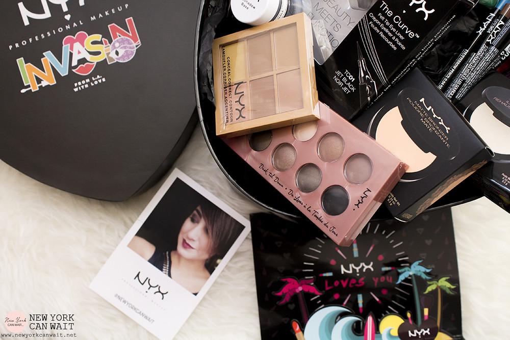 #NYXinvasion: il mondo dei colori e del makeup NYX Cosmetics sta invadendo l'Italia.