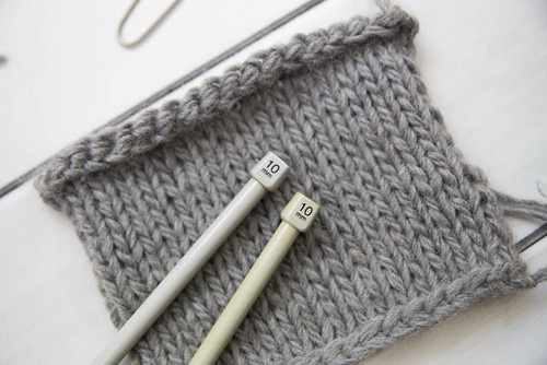 knitting with 10mm needles | by I Want You To Know UK Fashion Blog