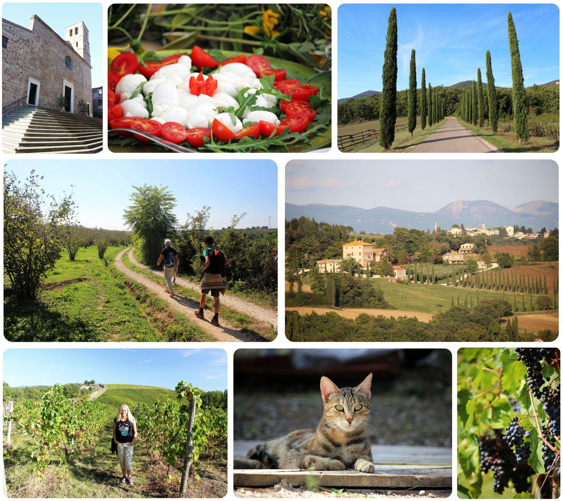 Via Amerina Italy