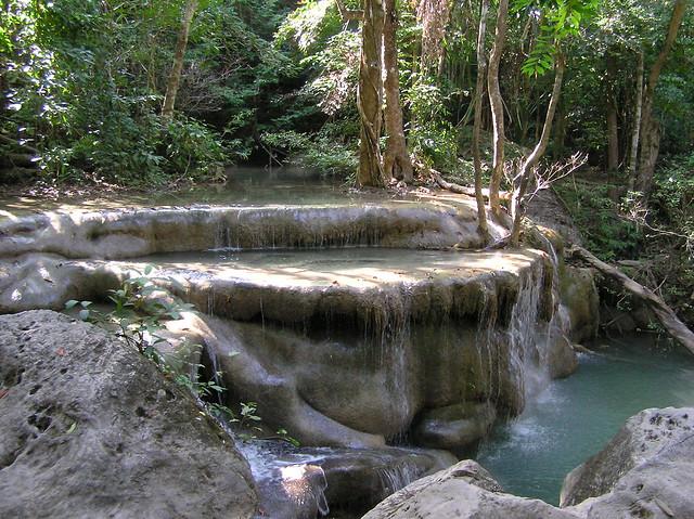 Erawan Falls, Tahiland