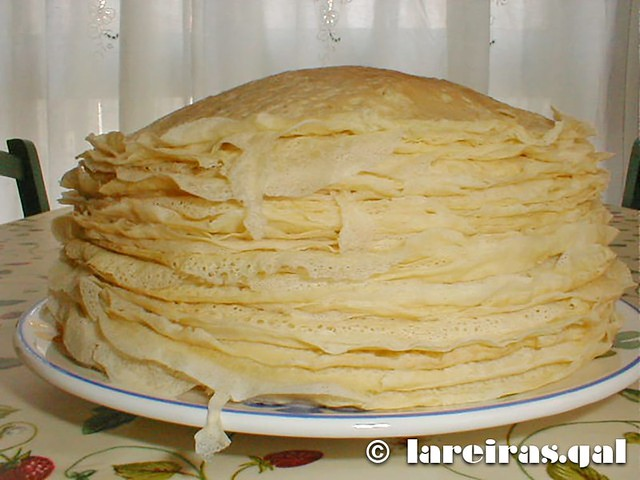 Filloas de anís