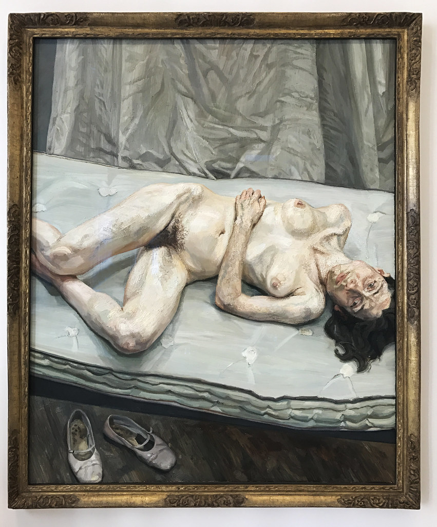 Useful piece Lucian freud naked portrait speaking