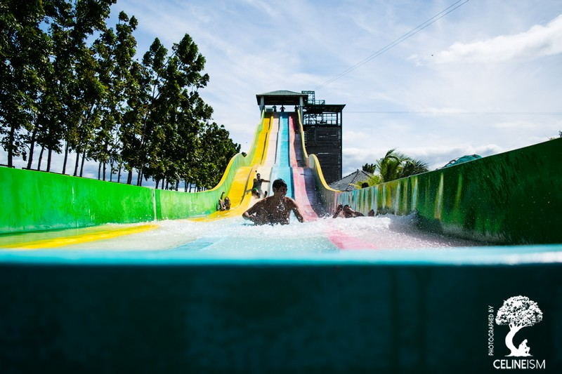 Cool waterslides from Crystal Wave Resort