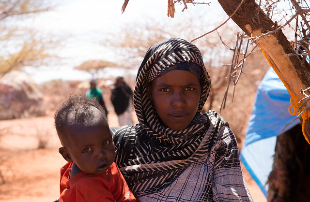 Halimo Bandais, 20-year-old mother of a toddler is the eldest daughter of Sadeh.