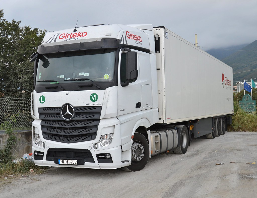 Lt Girteka Logistics Mercedes Mp4 1845 Matte Trucks