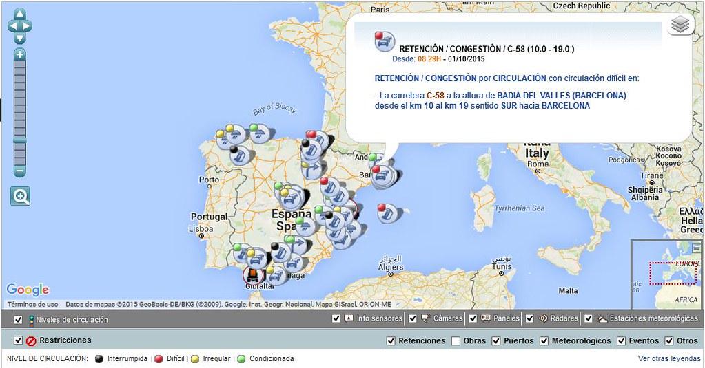 bigData en información del tráfico
