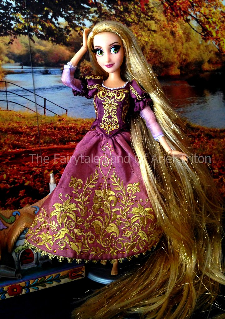raiponce fairytale designer collection disney store 2015 by the fairytale land of ariel triton - Raiponce