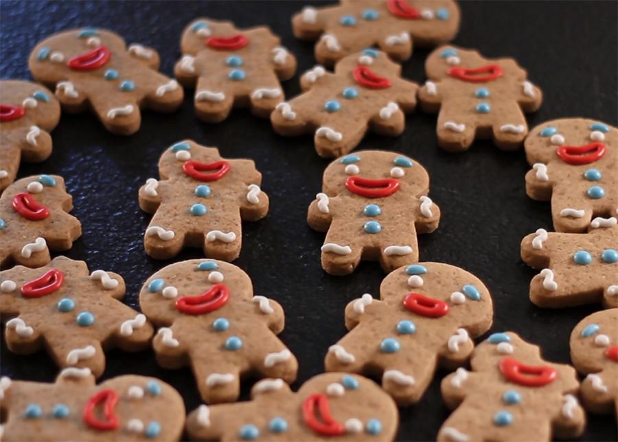 galletas de Navidad decoradas jengibre