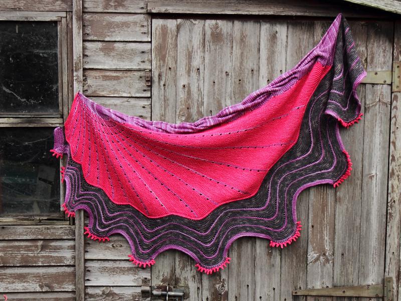 West Knits KAL shawl