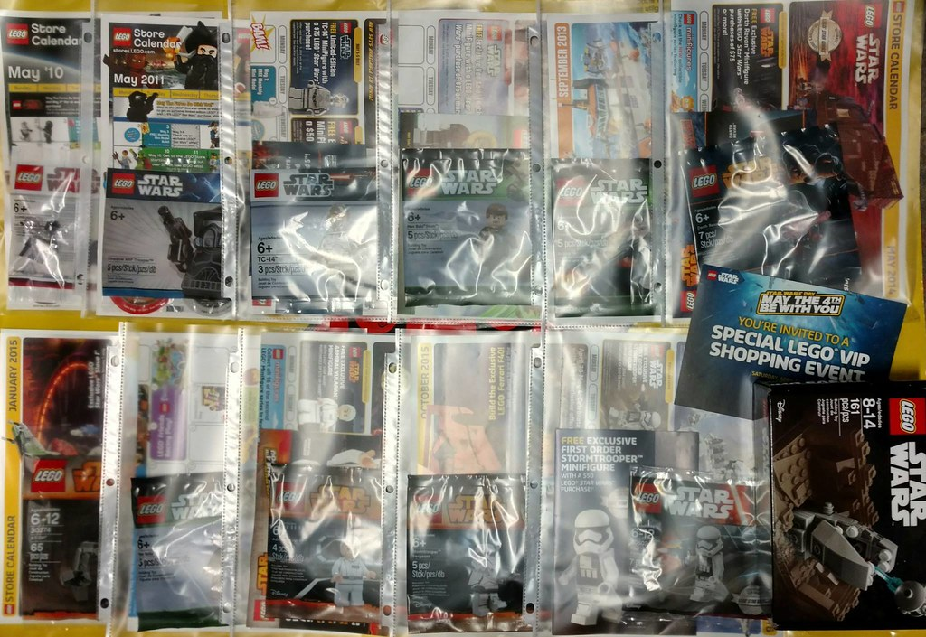 US Lego Stores Star Wars Promos 2010-2016 | Collection of fr… | Flickr