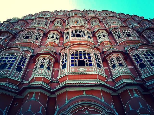 Palacio de los vientos de Jaipur (India)
