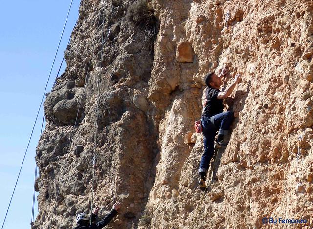 Jaume Pons - Levitant, 6b+_c -02- Vall de lord, Sector Serra Creu del Codó, Subsector Freebloc (25-02-2017)