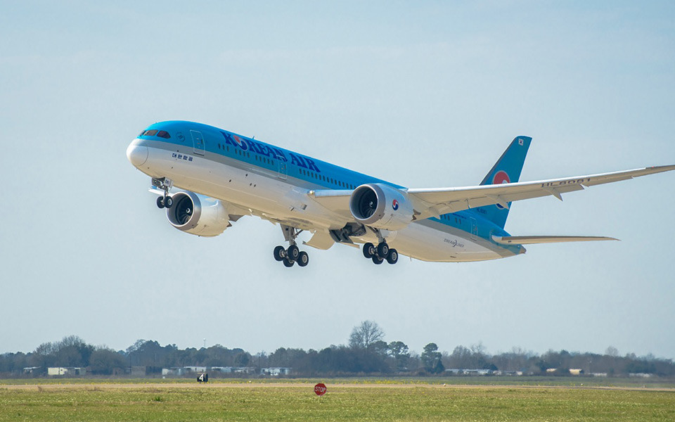 A Korean Air is Dreamliner üzemeltető lett