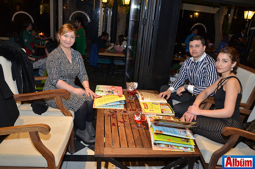 Leman Kültür'de kutladılar5 ( Sevgililer Günü)