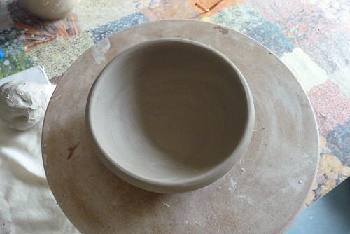 first thrown bowl