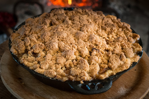 Apple Crumble Pie | by goingslowly