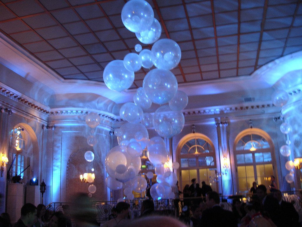 Balloon Bubbles The After Show Party Was Of Course