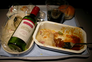 Airplane Food Makes Me Gassy