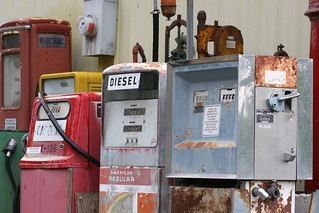 Fuel pumps of not so long ago... | by Librarianguish