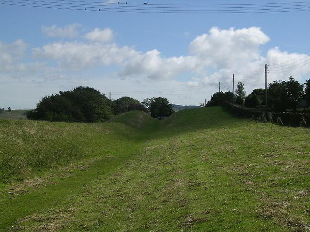 Ditch east of Gilsland