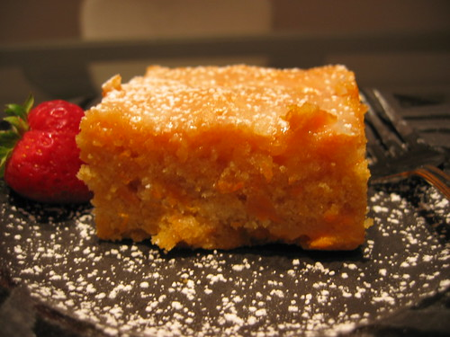 Golden Yam Brownie | This is a change from the chocolate bro ...