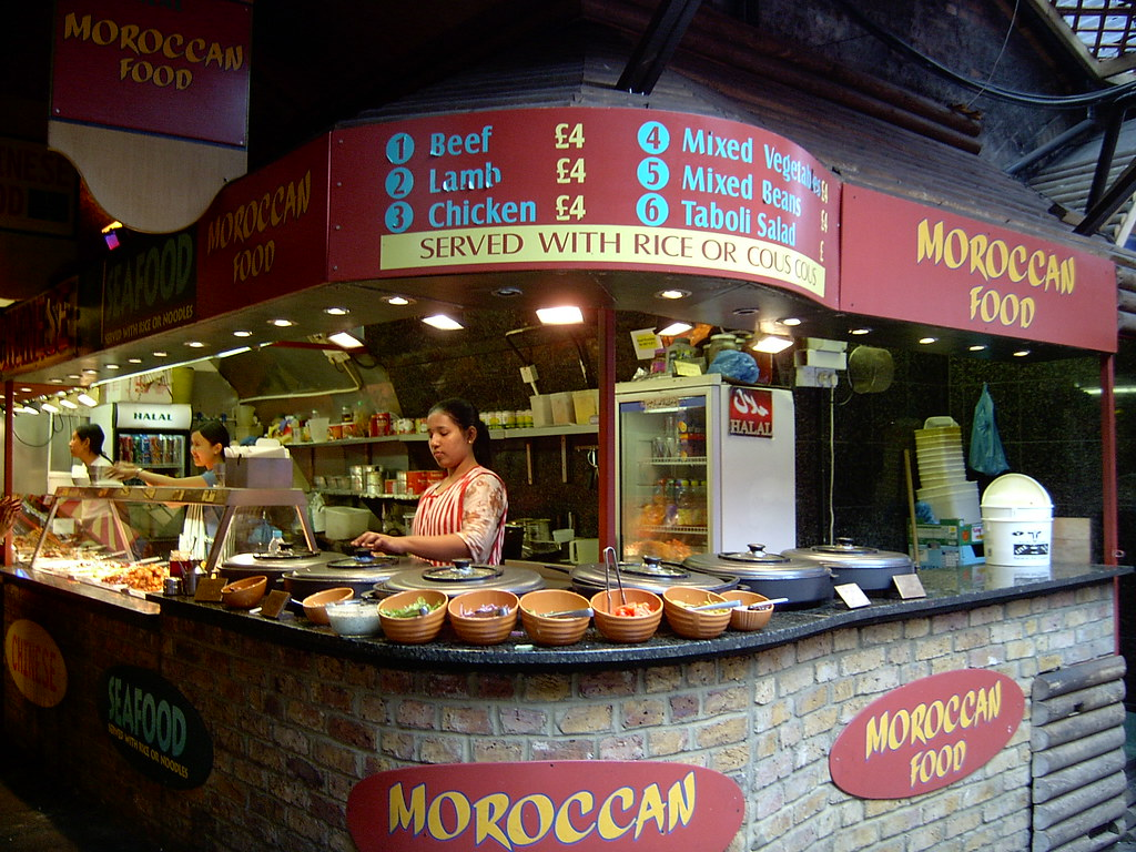 how to start a food market stall