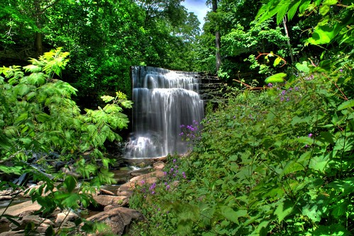 HDR Grindstone Falls | by Lone Primate