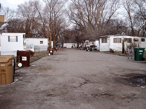 Abandoned Trailer Park