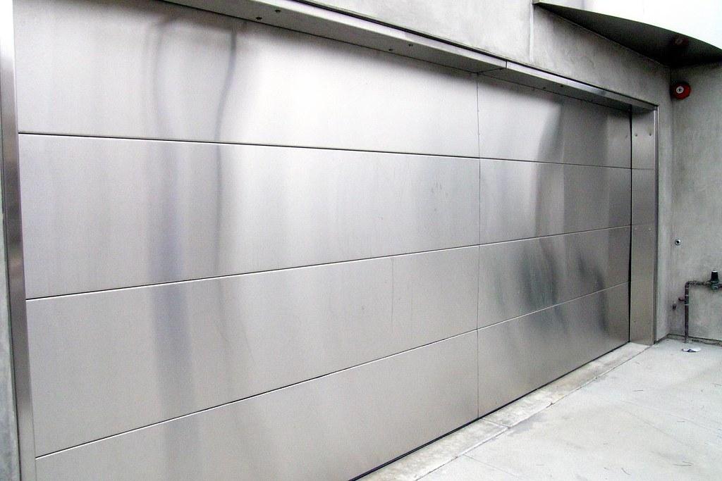 Attirant ... Stainless Steel Garage Door | By Alison Chains
