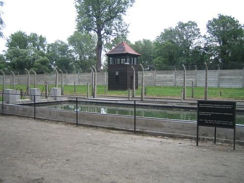 Swimming Pool Here Is A Swimming Pool In Auschwitz I Tha Flickr