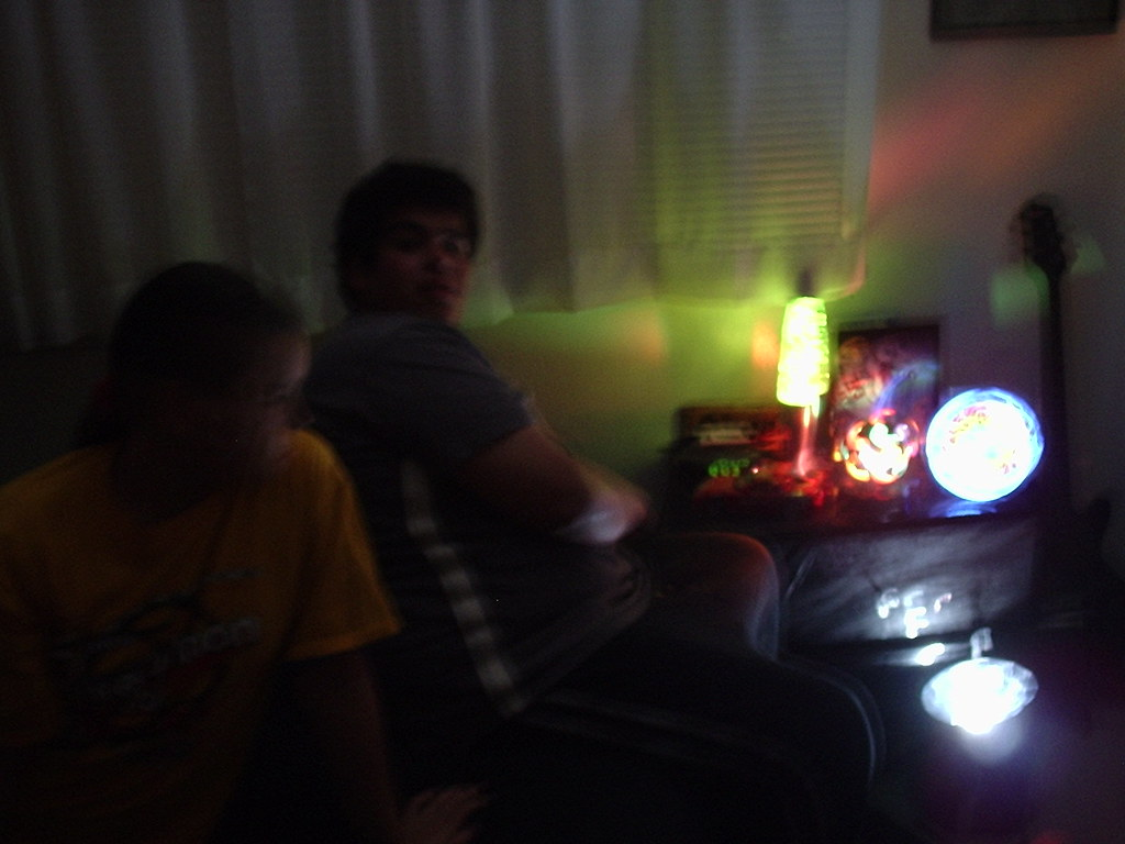 ... Strobe Lights In A Teenagers Bedroom   By Heavy Puff