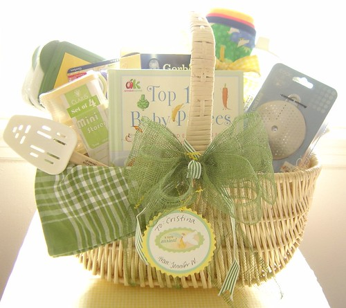 Baby Shower Gift Basket ~ Homemade Baby Food | by The Felt Mouse