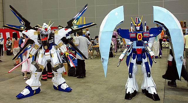 Gundam 004 Comic And Cosplay Event Held At Makuhari Messe Flickr