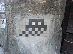 Space Invader in Barcelona (1) | by clotilde