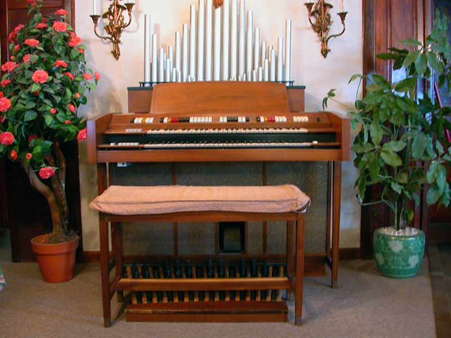 Conn Rhapsody Organ 627 Conn Rhapsody  My