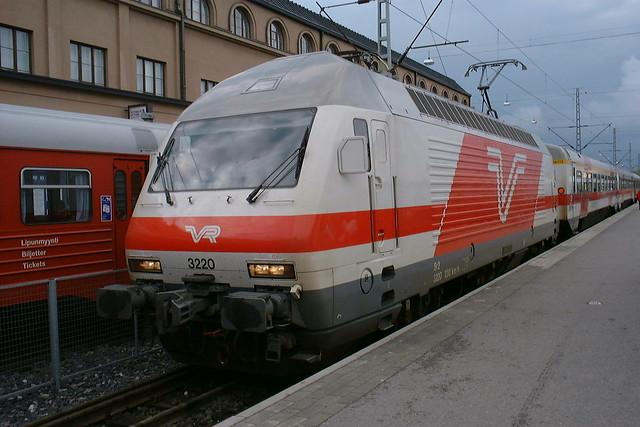 Tren en finlandia