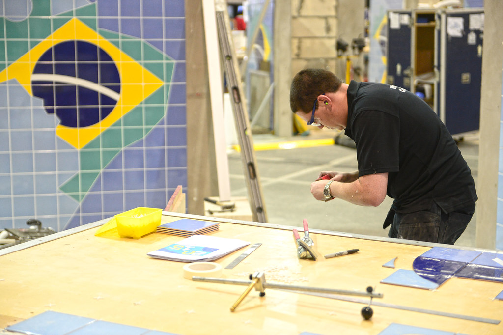 Worldskills Sao Paulo 2015 Day 3 Martin Mclaughlin Wall Flickr