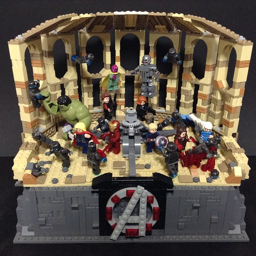 Lego Avengers:age of ultron - Sokovia battle | by Toryman