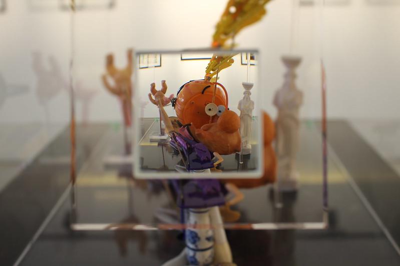 Titeuf par Pras (sculpture anamorphose) - Exposition Titeuf à la Galerie Glénat