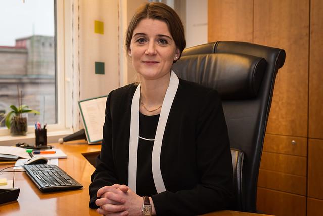 Grete Ellingsen er statssekretær i Kommunal- og moderniserigsdepartementet. Foto. KMD