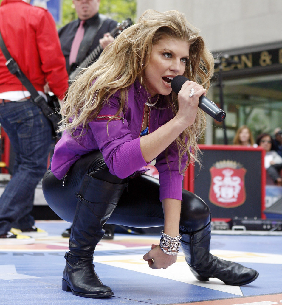 TODAY SHOW FERGIE | bruceff | Flickr Fergie Today