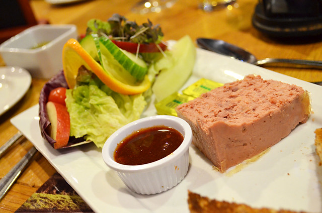 Pheasant pate, Kingarth Hotel, Bute, Scotlands