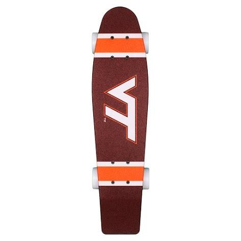 Virginia Tech Aluminati Skateboard