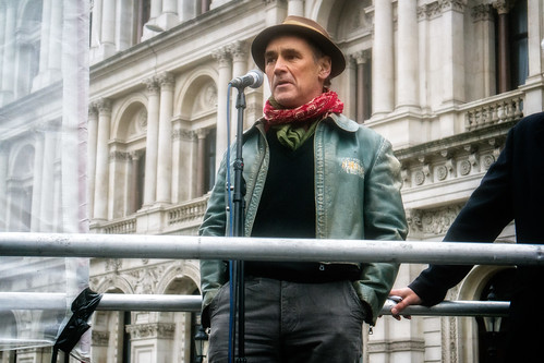 Don't Bomb Syria - Mark Rylance | by garryknight