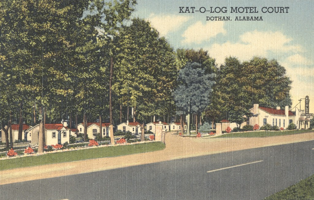 Kat-O-Log Motel Court - Dothan, Alabama