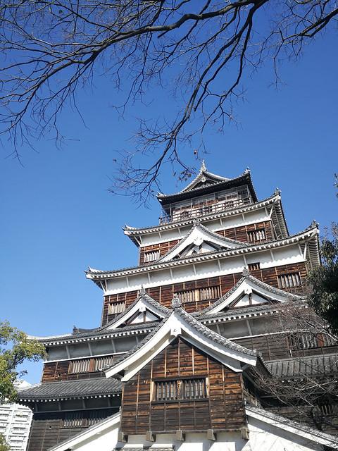The Hiroshimajo (Jo = castle)
