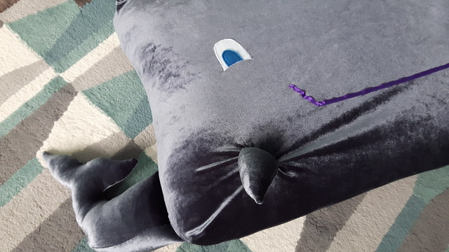 Whale Floor Cushion 41